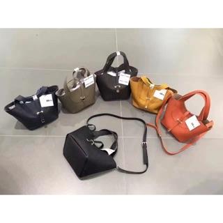 [預購]韓國 Le-junev 荔枝皮手提/側背兩用包