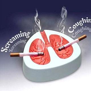 創意個性肺部造型煙灰缸 戒煙搞笑煙灰缸 父親男友春節新年禮物