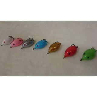 漁獵 雷蛙 路亞天堂(袖蛋雷蛙有倒鉤 長:5公分 重:16g  路亞