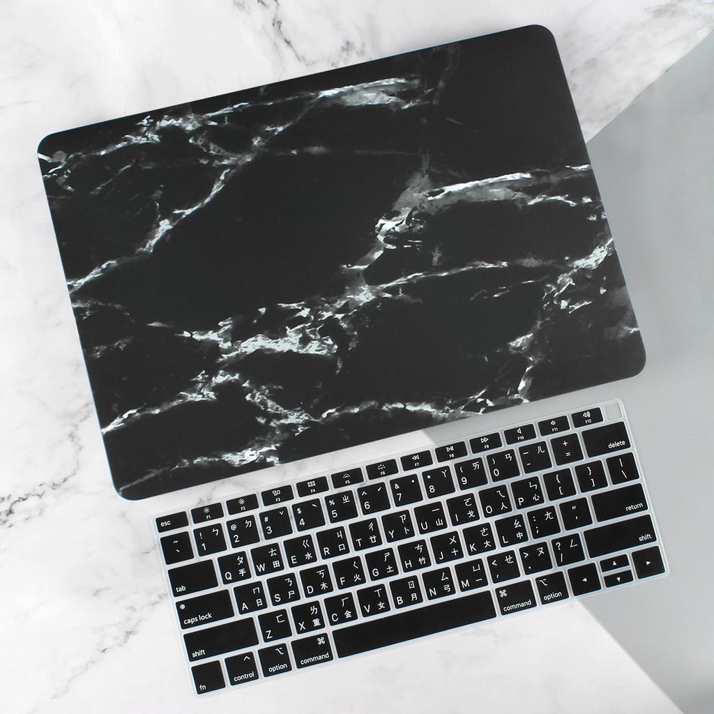 Apple保護殼 Macbook Pro 13 15.4 吋 Touch Bar Air  2019新款 大理石紋黑色