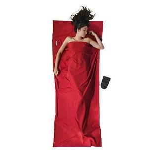 【COCOON奧地利舒適睡眠旅用配件】Microfiber超細纖維旅用床單/睡袋內袋-小紅莓