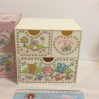 Sanrio 50周年 美樂蒂 MY Melody 桌上型收納櫃