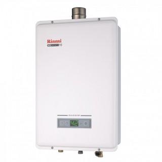 林內 RUA-B1601WF 數位恆溫 強制排氣型 瓦斯熱水器