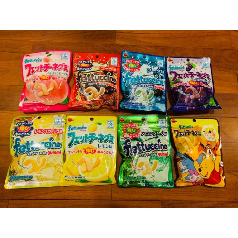 北日本Fettuccine 長條軟糖 Q軟糖 微酸軟糖 微甜軟糖 不膩軟糖 可樂 葡萄 水蜜桃 柚子檸檬 蘇打 綜合水果