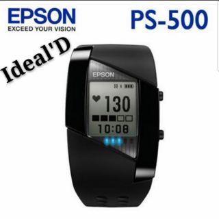 【全新公司貨】EPSON Pulsense PS-500 PS500 心率有氧教練 運動手錶