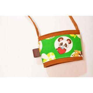 可愛森林小動物布杯袋