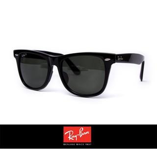 Ray Ban 雷朋 2140F 亞洲人專用 鼻樑改良 偏光鏡片 抗UV 太陽眼鏡 墨鏡 男款 Outlet
