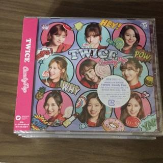 TWICE CANDY POP 日本初回通盤 TOWER RECORODS海報