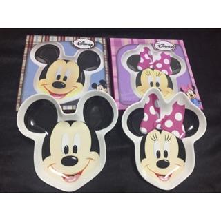 迪士尼 米奇米妮陶瓷盤