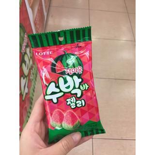 韓國零食-Lotte 西瓜造型軟糖