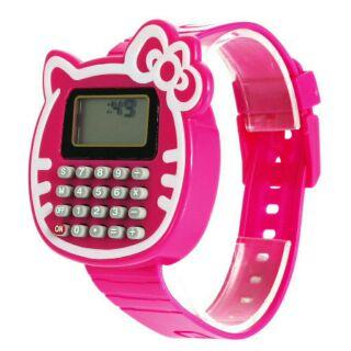 Hello kitty造型超薄計算機手錶