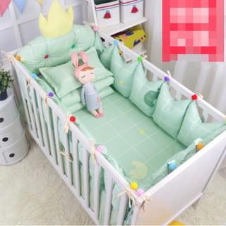 【促銷價】淘淘樂-嬰兒床圍皇冠床圍造型皇冠床頭靠墊嬰兒床圍純棉寶寶床上用品