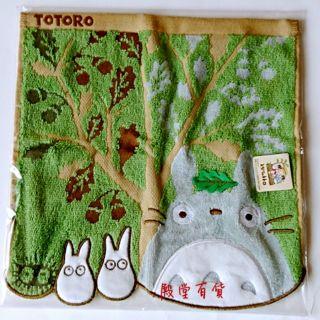 日本~日本宮崎駿龍貓&小魔女手帕 毛巾