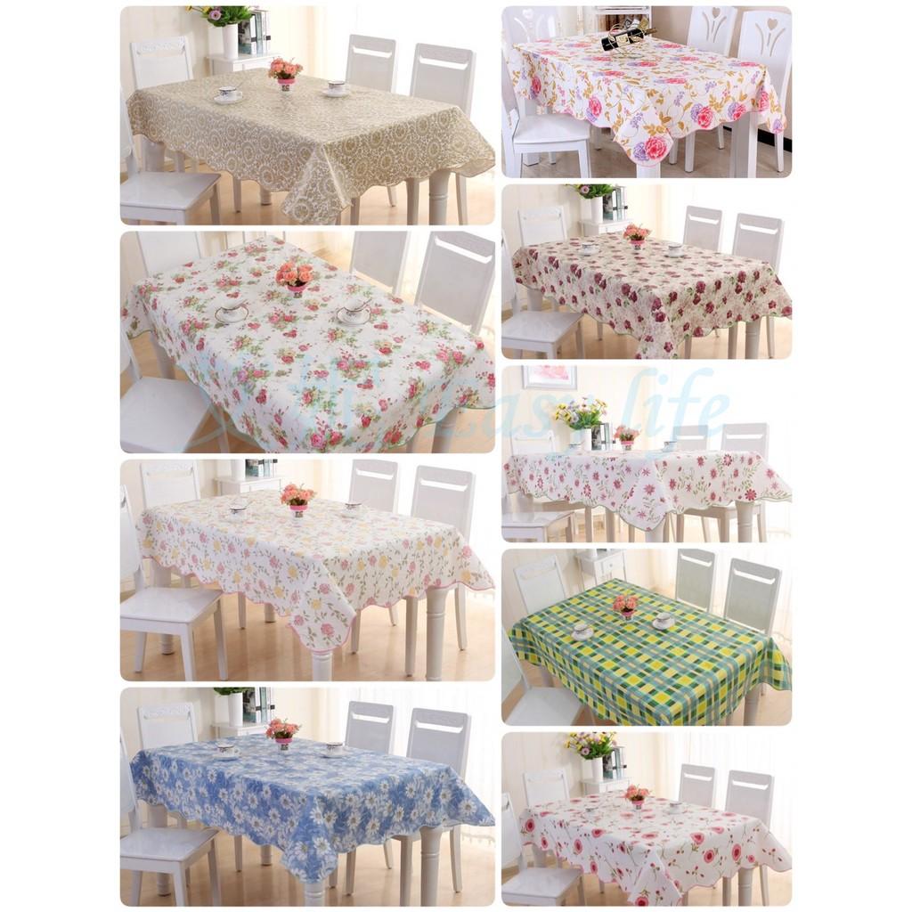 高 桌布 鄉村田園PVC桌布 防水防油免洗 露營 拍照背景餐桌巾 派對Zakka