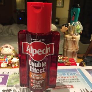 Alpecin雙效咖啡因抗頭皮屑洗髮露/德國製造/運動型