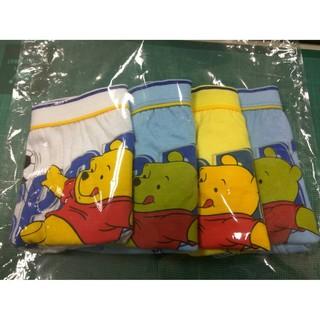 二手-九成新  Disney 小熊維尼 男童內褲 S號