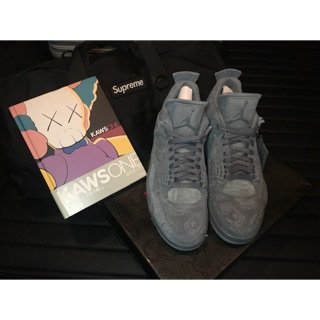 Nike air jordan 4 x kaws us 9.5