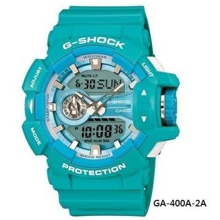 CASIO G-SHOCK GA-400A 大錶徑 GA-400A-2A  史蒂芬綠 Tiffany 手錶