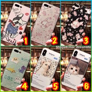 I Phone 全 、OPPO R 系列、三星、小米、VIVO 、華為法鬥花朵鬥牛犬慵懶貓咪