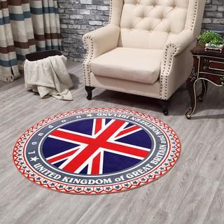 夢吉爾圓形地毯可定制吊籃藤椅墊電腦椅墊臥室床邊飄窗卡通地毯現貨