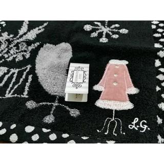 LULUGUINNESS 日本製 100%純棉  手帕