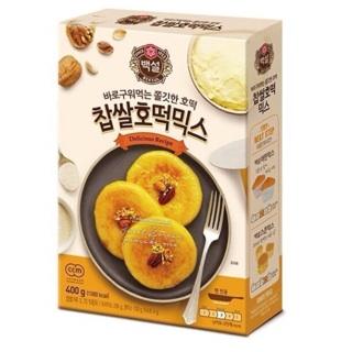 韓國 CJ BEKSUL 爆漿 黑糖餅 DIY 400g 韓國糖餅 預拌粉 糖餡餅 호떡 太咪瘋韓國