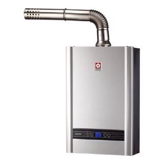 櫻花牌DH1638A數位恆溫16L瓦斯熱水器 (限北北基地區購買安裝)