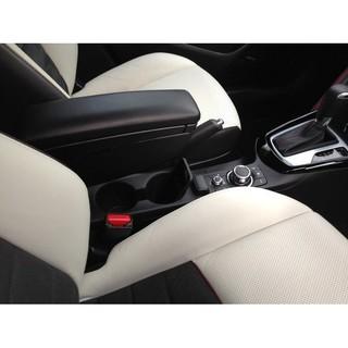 歐規款! Mazda CX-3 CX3專用※台北快車※馬自達原廠中央扶手座: 90度上掀+前後可滑動+可調式儲物隔板