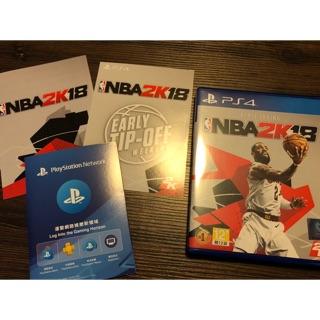 NBA 2K18 PS4 包含預購特典、PS PLUS會員
