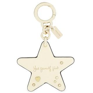 COACH-Coach x Selena Gomez star leather bag charm吊飾