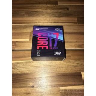 英特爾 intel i7-8700K 全新盒裝