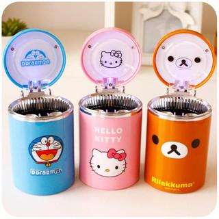kitty 哆拉 拉拉熊 熊本熊 led 煙灰缸