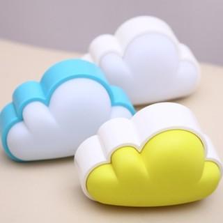 ✭米菈 館✭~P45 ~光控雲朵小夜燈插座LED 節能感應床頭壁燈插電 閨密