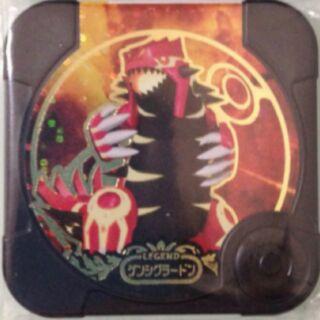 【可刷】神奇寶貝 TRETTA  方形卡匣 Pokémon 台5彈 傳說級別 黑卡『 固拉多』回歸原始 正版 美品
