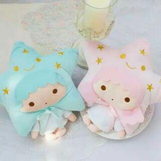 雙子星抱枕
