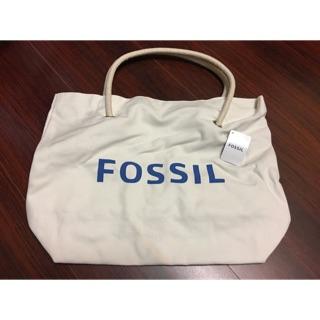 Fossil帆布購物袋