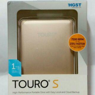 特價送收納包♥HGST Touro S 7200轉 1TB 2.5吋 行動硬碟 可加購原廠收納包
