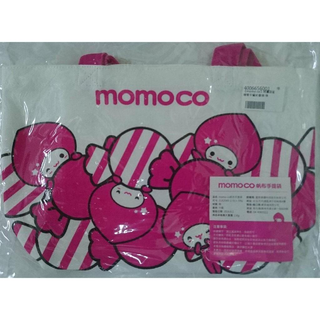 現貨~momo co帆布手提袋.餐具提袋.購物袋