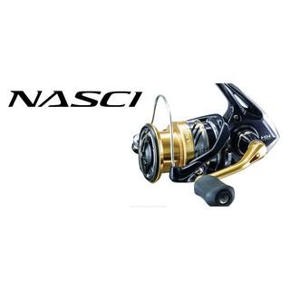 SHIMANO NASCI 4000系列 5000系列-捲線器-紡車式捲線器