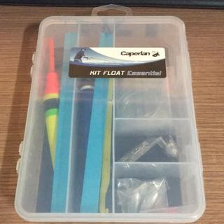 迪卡儂 釣魚用具套裝組 魚勾 浮標 釣魚線