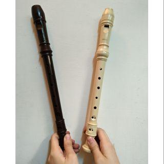 二手直笛 (黑色suzukl) (白色Yamaha) 白共四支 Yamaha 直笛