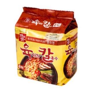 韓聚韓國 內銷版 泡麵 Pulmuone 辣 牛肉風味刀削麵 韓國型男主廚推薦 辣牛肉湯刀削麵