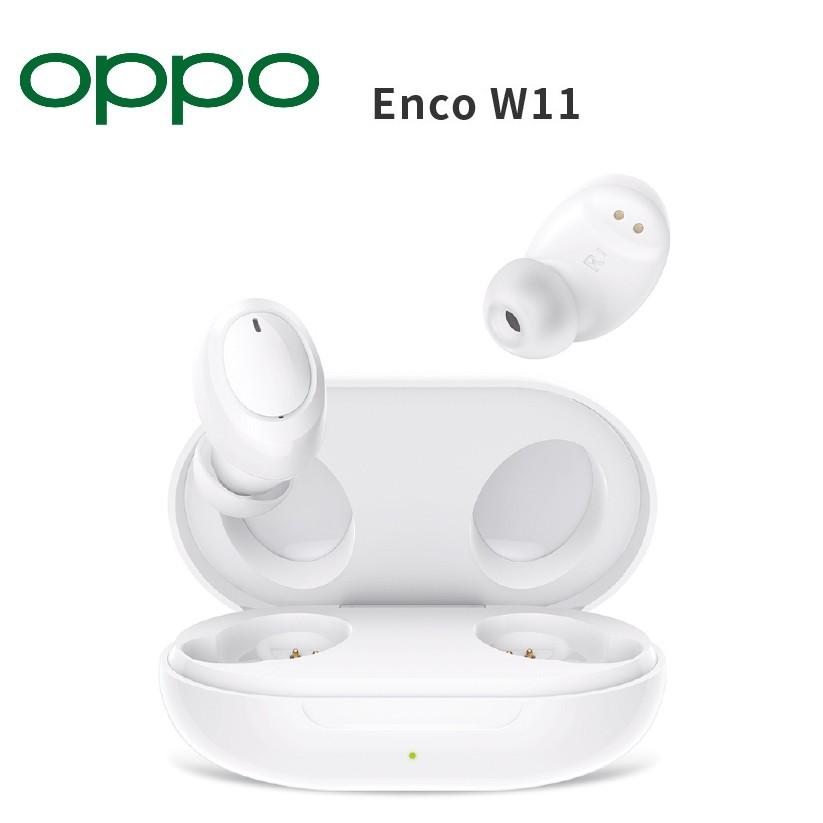 OPPO Enco W11真無線藍牙耳機 IP55防塵防水 運動 藍牙耳機 雙耳 台灣公司貨