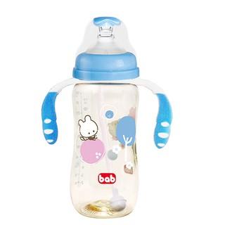 培寶bab PPSU 手把吸管奶瓶 寬口徑 L 330ml