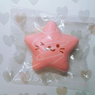 正版Mother Garden小海豹粉色星星麵包squishy 舒壓 軟軟