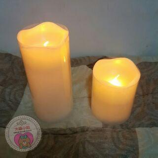 仿真LED電子蠟燭 真臘外殼 小夜燈 蠟燭燈 (內附影片)