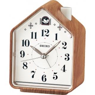 SEIKO_精工鐘_靜音式秒針_鳥鳴聲_音量調鈕式_基本型鬧鐘QHP005_QHP003_QHP002  959