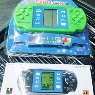 【次女美日韓代購】 POP Station 懷舊掌上型遊戲機 電動玩具