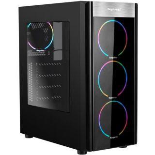 鑫谷 x3機殼 電腦機殼 wider x3機殼 RGB七彩變色機殼 附遙控調燈光 控制器 三RGb風扇 12cm led