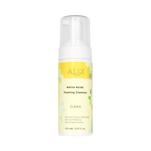✨ALIZ原生肌胺基酸潔顏慕斯✨天然芳療 原生肌植物洗顏 檸檬 迷迭香 苦橙葉 保濕 舒緩 溫和清潔